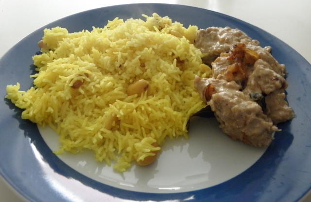 Pulao with Safed Murgh