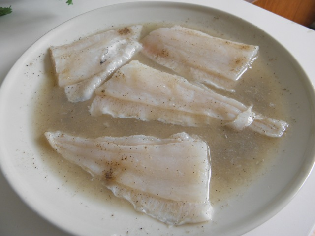 Marinated Pangasius fillet