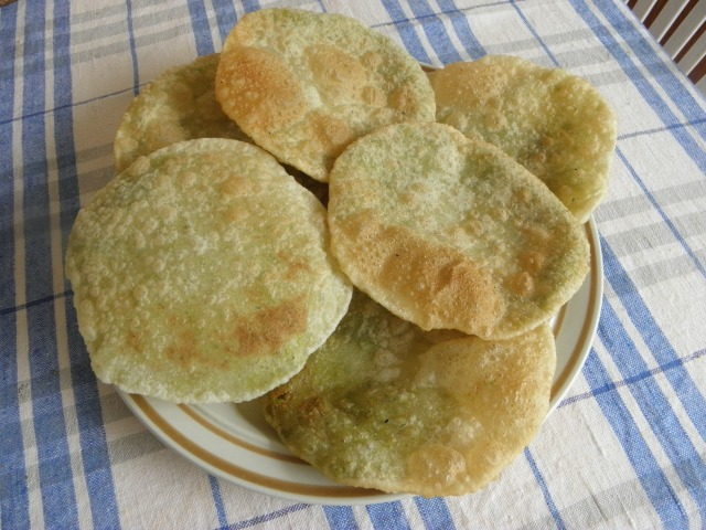Peas puris are ready to serve