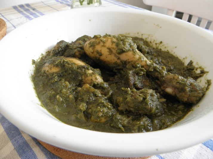 Dhania Chicken or Green Chicken