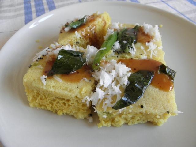Delicious Khaman Dhokla