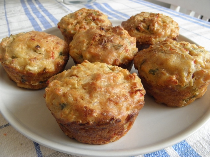 Spicy Chicken Muffins