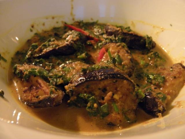 Beguner jhal or Brinjal in mastard curry