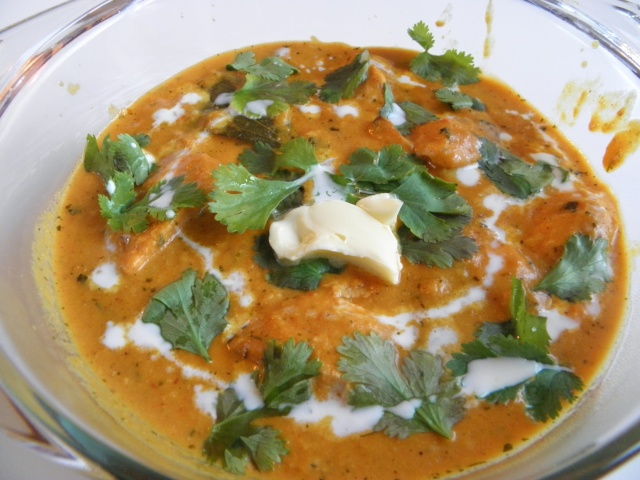 Chicken Butter Masala or Butter Chicken