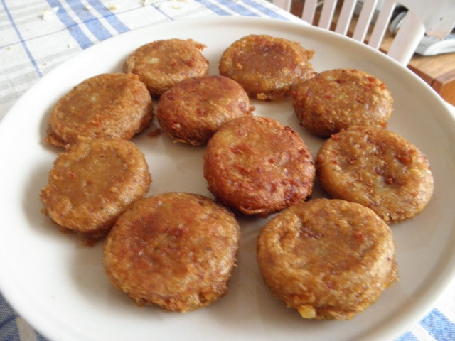 Fried koftas