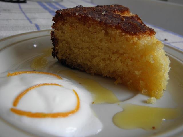 Moroccan Orange & Almond Cake