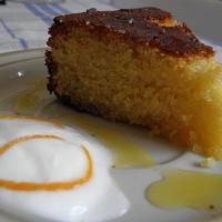 Moroccan Orange & Almond Cake (A semolina cake without flour)