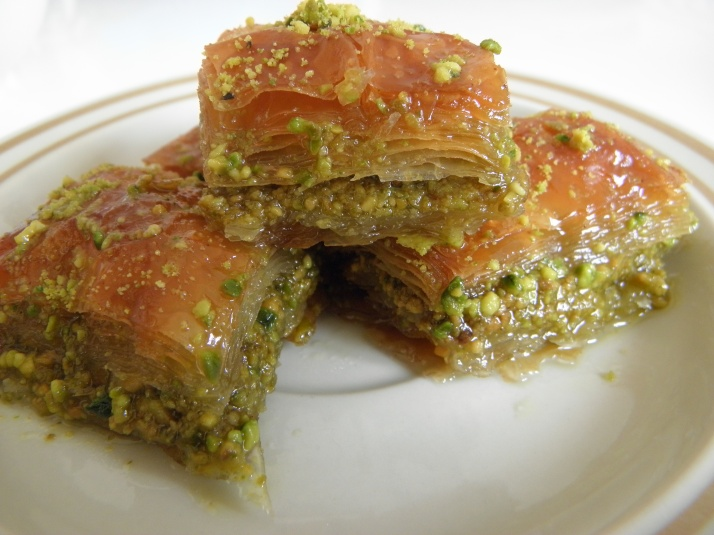 Pistachio Baklava – A Turkish Dessert | Cooking Delight