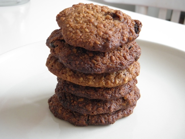 Buckwheat flakes & hazalnut cookies
