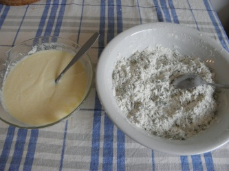 Flour & Yogurt mixture