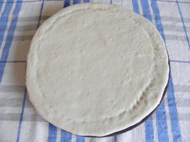 Pizza base is ready to use
