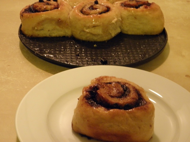 Cinnamon swirls or buns