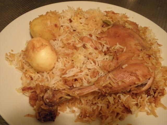 Kolkata style Chicken Biryani