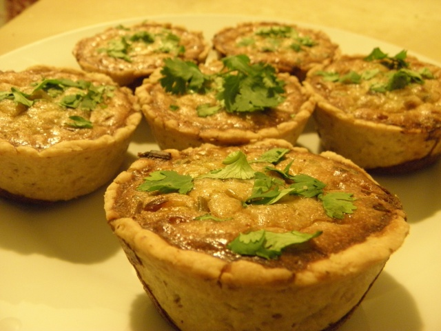 Blue Cheese & Walnut Tartlet