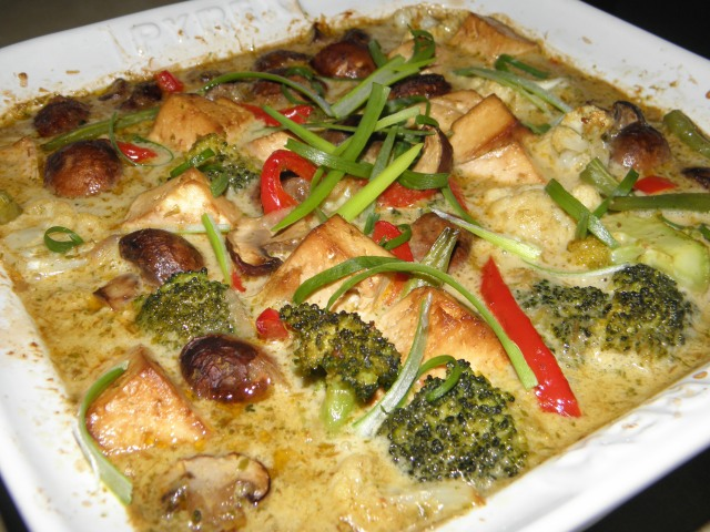 Tofu & Vegetable Thai Curry