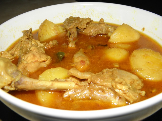 Murgir Jhol or Bengali style Chicken curry