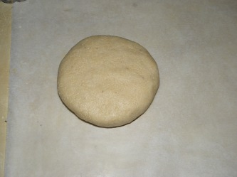 Cashew nut dough ball