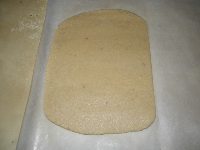 After rolling to 0.6 cm. rectangle