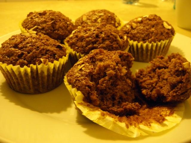 Fig & Almond Muffins