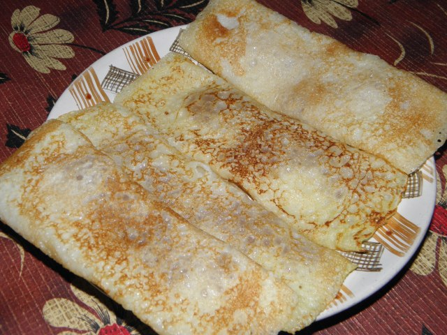 'Patishapta' is ready to be served