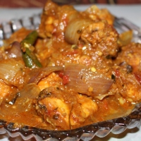 Murg Do Pyaza/Chicken Do Pyaza