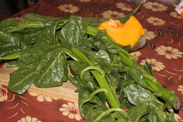 Pui Sag or Malaber Spinach