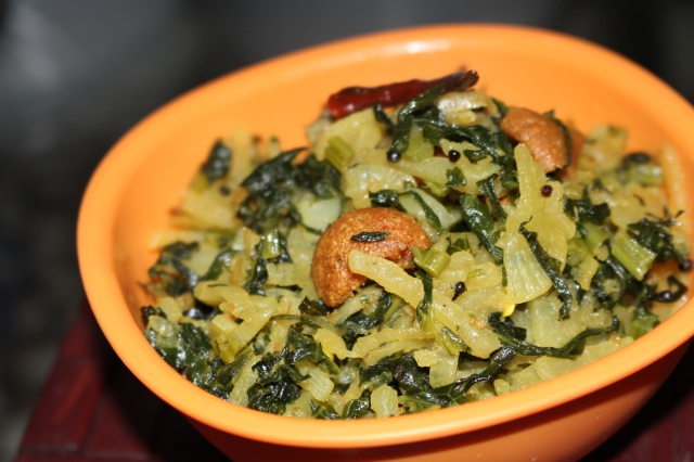 Mulor Ghonto / Stir-fried Radish