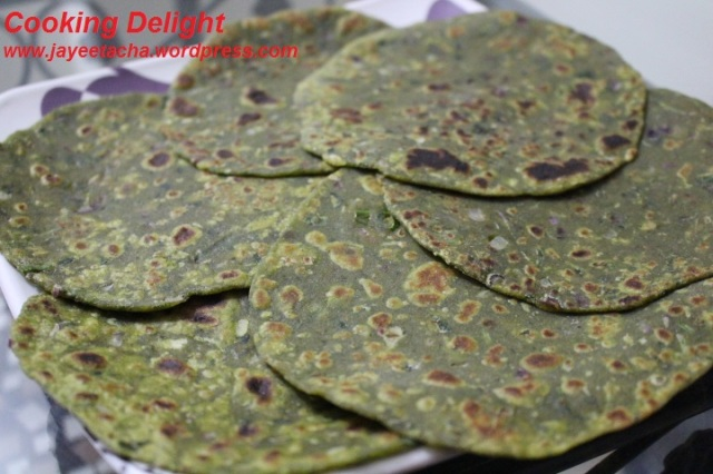 Methi Paratha or Fenugreek Leaves Paratha