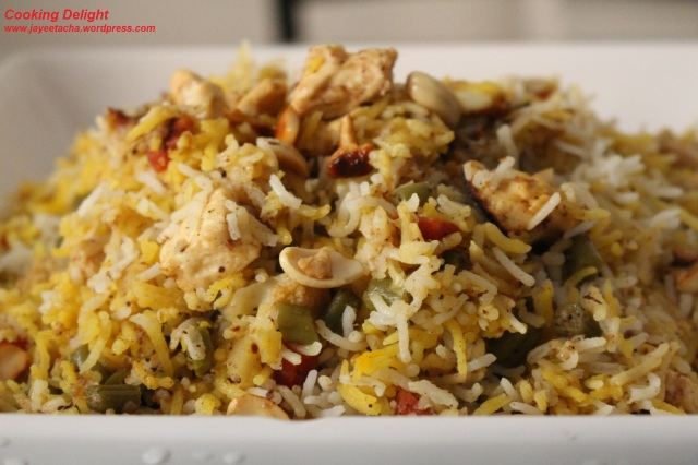 Vegetable Dam Biryani