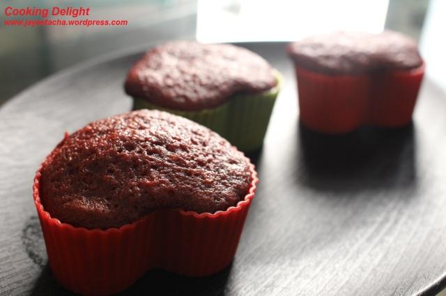 Love Bites (Heart shaped Red Velvet Cupcakes)