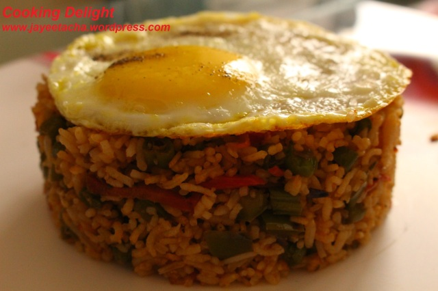 Mexican Fried Rice with Egg
