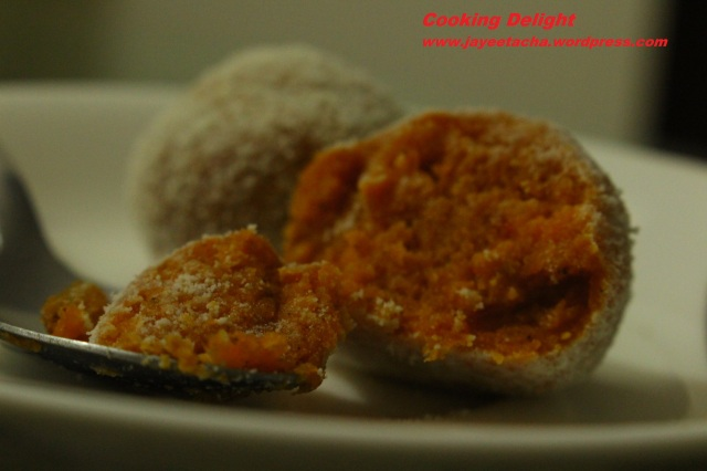 Laddu is ready to be served