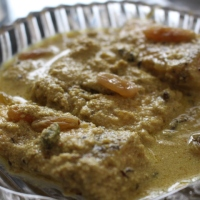 Rui Posto (Rohu cooked in Poppy Seed Paste)