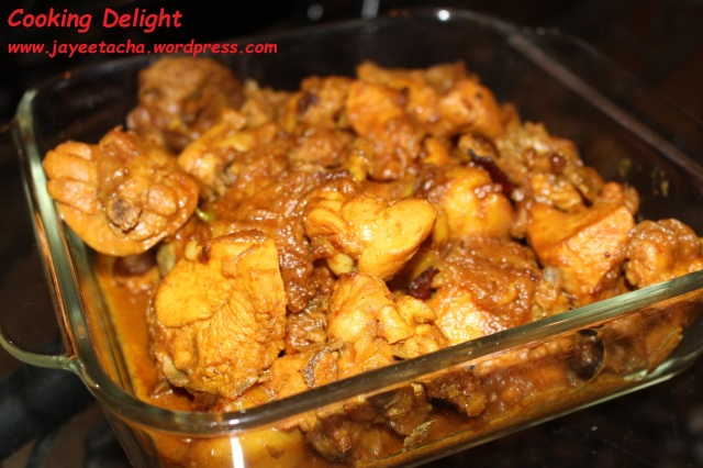 Chicken Kosha