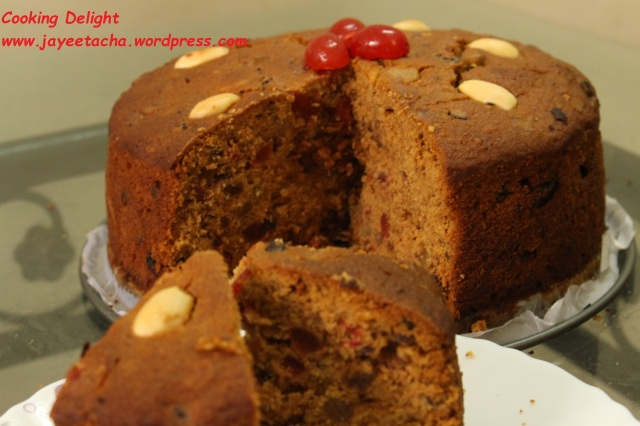 Rich Fruit Cake for Christmas